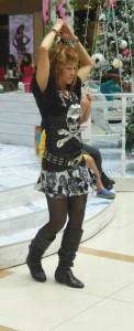 flicka dansar