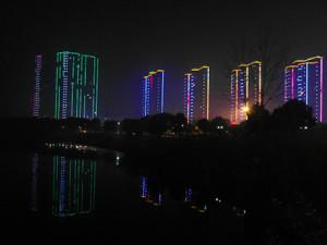 r hotell utsikt natt